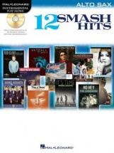 Instrumental Play Along - 12 Smash Hits + Cd - Alto Saxophone
