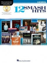 Instrumental Play Along - 12 Smash Hits + Cd - Horn