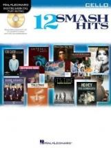 Instrumental Play Along - 12 Smash Hits + Cd - Cello