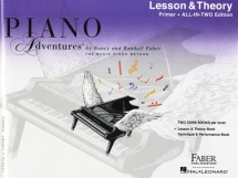 Piano Adventures All In Two Primer Lesson And Theory Anglicised - Piano Solo