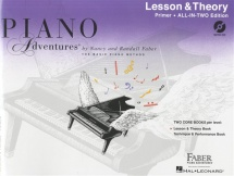 Piano Adventures All In Two Primer Lesson And Theory Anglicised + Cd - Piano Solo