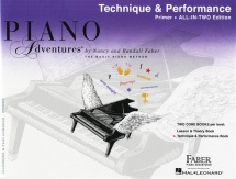 Piano Adventures All In Two Primer Technique And Performance - Piano Solo