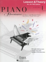 Piano Adventures All In Two Level 1 Lesson And Theory Anglicised - Piano Solo