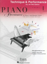 Piano Adventures All In Two Level 1 Technique And Performance Angl - Piano Solo