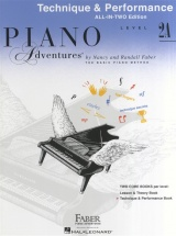 Piano Adventures All In Two Level 2a Technique And Performance Ang - Piano Solo