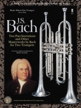 Bach J.s. - Two-part Inventions For Two Trumpets + Cd
