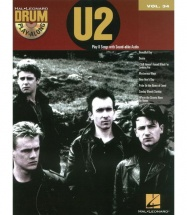 Drum Play Along Vol.34 - U2 + Cd