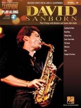 Saxophone Play-along Vol.8 - David Sanborn + Online Audio