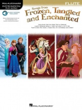 Songs From Frozen, Tangled & Enchanted - Flute + Audio-online