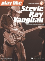 Play Like Stevie Ray Vaughan - Guitar + Online Audio