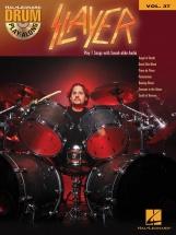 Drum Play Along Vol.37 Slayer + Cd