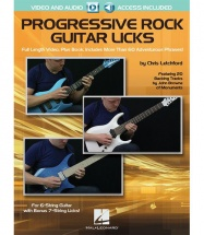 Letchford Chris - Progressive Rock Guitar Licks