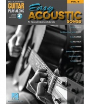 Guitar Play-along Vol.9 - Easy Acoustic Songs