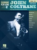 John Coltrane -  Saxophone Play-along Vol.10