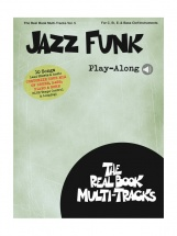 Real Book Multi-tracks Vol.5 - Jazz Funk Play Along