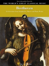Beethoven - 53 Selections From Symphonies, Masses And Piano Works - Piano Solo