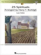 25 Spirituals Arranged By H. T. Burleigh + Cd
