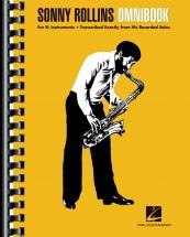 Sonny Rollins - Omnibook B Flat