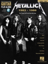 Metallica 1983-1988 -  Guitar Play Along Vol.195