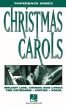 Christmas Carols Paperback Songs - Pvg