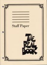 Real Book Staff Paper