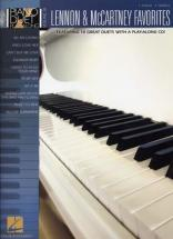 Piano Duet Play Along Vol.38 Lennon & Mccartney Favorites + Cd