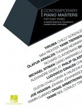 Contemporary Piano Masters For Easy Piano