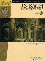 Taylor Christopher - Js Bach - Two Part Inventions - Piano Solo