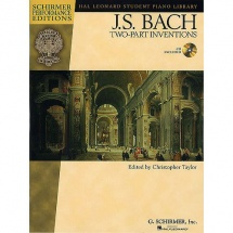 Bach J.s. - Two-part Inventions + Cd