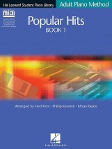 Adult Piano Method Popular Hits Book 1 Pf Book/gm Disk - Piano Solo