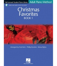 ADULT PIANO METHOD - CHRISTMAS FAVOURITE + MP3 - BK. 1 - PIANO