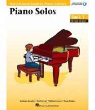 HAL LEONARD STUDENT PIANO LIBRARY PIANO SOLOS BOOK 3 + MP3 - PIANO