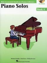 Student Piano Library Piano Solos Book 4 - Piano Solo