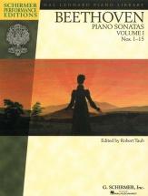 Performance Edition Beethoven Piano Sonatas Taub Vol 1- Piano Solo