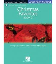 ADULT PIANO METHOD - CHRISTMAS FAVOURITE + MP3 - BK. 2 - PIANO