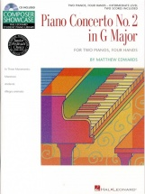 Matthew Edwards - Concerto No.2 In G For 2 Pianos - Piano Duet