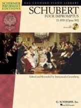 Gruenberg Immanuela - Schubert - Four Impromptus, D. 899+ Cd - Piano Solo
