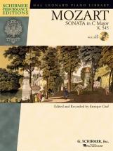 Mozart - Sonata In C K.545 + Cd - Piano Solo
