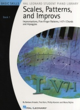 Student Piano Library - Scales, Patterns And Improvs Bk1 - Keyboard