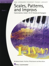 Student Piano Library Scales Patterns And Improvs 2 - Piano Solo