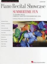 Student Piano Library - Recital Shwcse Summertime Fun - Piano Solo