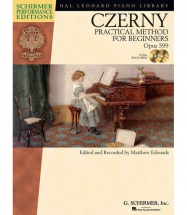 Czerny Carl - Practical Method For Beginners Op.599 Piano + Cd - Piano Solo