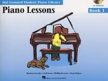 Student Piano Library - Piano Lessons - Book 1 - Piano Solo