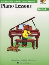Student Piano Library Piano Lessons Book 4 - Piano Solo
