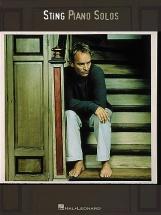 Sting Piano Solos- Piano Solo
