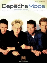 Best Of Depeche Mode Piano Vocal Guitar Songbook - Pvg