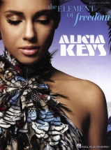 Alicia Keys - The Element Of Freedom Piano Vocal Guitar Songbook- Pvg