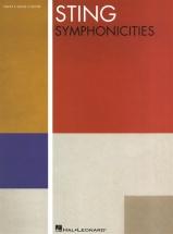Sting Symphonicities Piano Vocal Guitar - Pvg