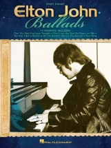 Elton John Ballads Easy Piano Personality - Piano Solo