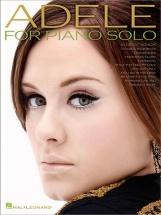 Adele - Adele For Piano Solo